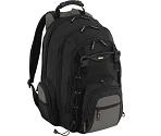 Backpack - Mochila modelo CityGear, Negro/Gris/Amarillo, 17.3