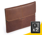 Targus Hughes Leather Portfolio Sleeve for iPad®