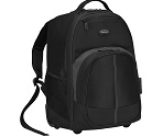 Backpack con ruedas Compact [Negro/Gris] 16