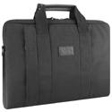 Elegante maletín para portátil negro- Estuche para  portátil Smart City
