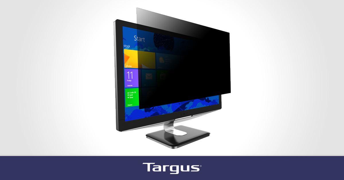 4vu privacy screen for 23 5 widescreen monitors 16 9. Black Bedroom Furniture Sets. Home Design Ideas